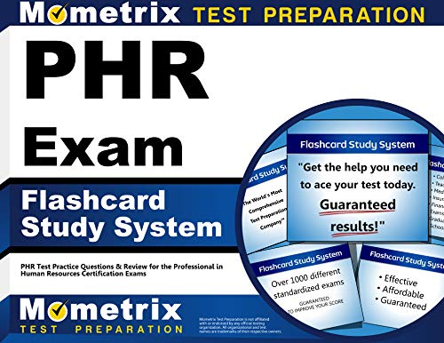 PHR Exam Flashcard Study System: PHR Test Practice Questions & Review for the Professional in Human Resources Certification Exams (Cards) (All The Best Cards For Exams)