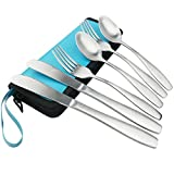 Ggbin 6-Piece Stainless Steel Travel / Camping Silverware...
