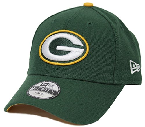 "Green Bay Packers New Era Youth NFL 9Forty ""The League"" Adjustable Hat"