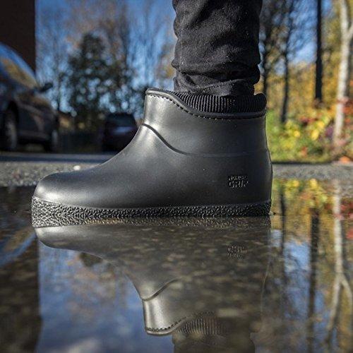 Agarre nórdico moja Winterproof botas (37, oliva) Negro