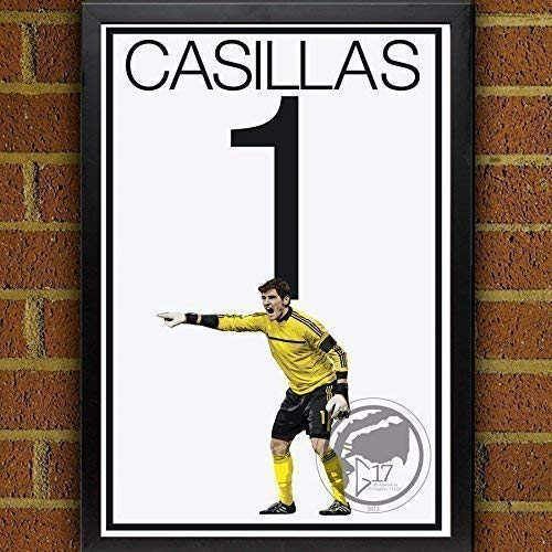 Iker Casillas Poster - Real Madrid Art