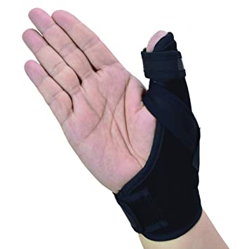 c2078bba09 Thumb Spica Splint- Thumb Brace for Arthritis or Soft Tissue Injuries,  Lightweight and Breathable