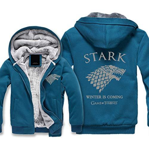 Cappuccio Zip Game Thrones Uomo Tuta Caldo Felpe stark 17 Sweatshirt Of Hooded Giacche Cappotto Invernali Unisex xqHA6T