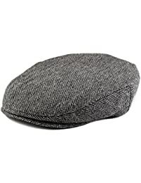 Flat Scally Cap - Boy's Tweed Page Boy Newsboy Baby Kids Driver Cap Hat