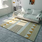 WAN SAN QIAN- Children Bedroom Carpet Nordic Carpet Living Room Carpet Sofa Rug Home Economy Rectangle Polyester Rug Rug ( Size : 140x200cm )