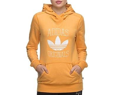 Con Adidas Amarillo Mujer Capucha Originals 8 Uk Slim Sudadera Para WpYvwFqY