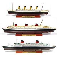 Atlas Juego de 3 cruceros transatlánticos Francia