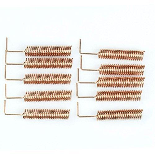 10pcs 433MHz antenne h¨¦lico?dale antenne T¨¦l¨¦commande pour Arduino Raspberry Pi