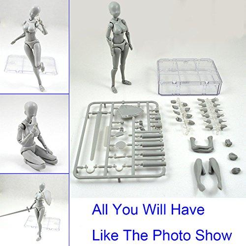 Majome modèle de figure d'action, 2.0 Action Figure Model pour SHF Body kun Doll PVC body-chan DX Set
