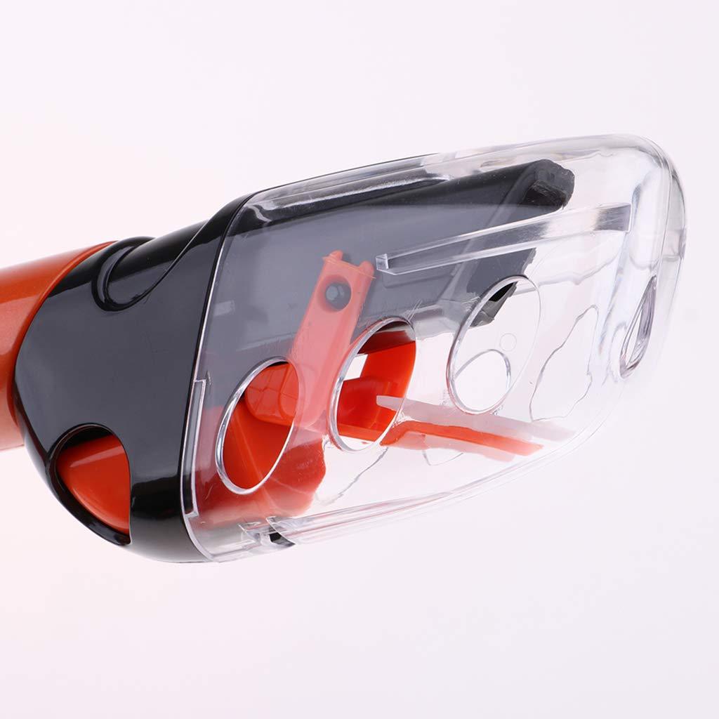 Adultos IPOTCH Set de Snorkel y M/áscara de Buceo con Junta Impermeable y Lentes de Vidrio Anti-vaho