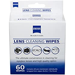 Zeiss Box Lens Wipes (60 Count)