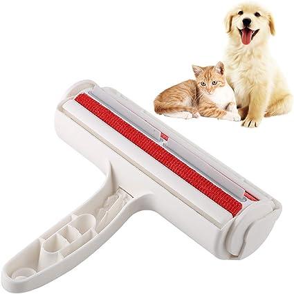 Smandy Cepillo de Limpieza para el Cabello para Mascotas, removedor de Pieles, Pelusa, Cepillo, Perro, Gato, Animales, removedor de Pelo para la Ropa del automóvil Sofá sofá, alfombras: Amazon.es: Belleza
