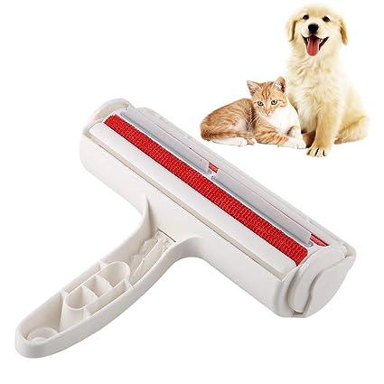 Smandy Cepillo de Limpieza para el Cabello para Mascotas, removedor de Pieles, Pelusa, Cepillo, Perro, Gato, Animales, removedor de Pelo para la Ropa ...
