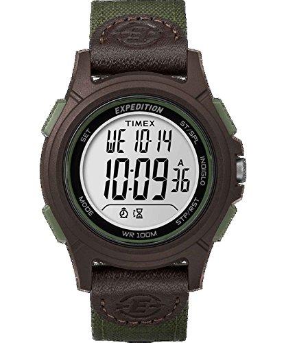 Timex Watch - Expedition Basic Cat Green - TW4B10000JV (Timex Set Watch)