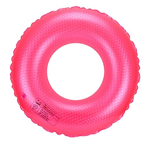 Leegor Premium PVC Float Swimming Tube Ring Inflatable Beach Raft Boat Sea Toys Swim Pool Party Decor (60)