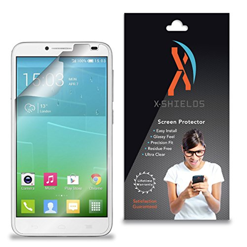 XShields (2-Pack) Screen Protectors for Alcatel OneTouch Idol 2 6037 K, Y, I, B (Ultra Clear)
