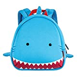 iPlay iLearn - Kids Cartoon Shark Backpack