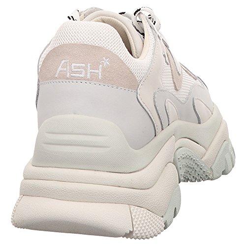 Ash Women's Veloursleder Trainers White White White B6b2W
