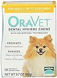 Merial 14 Count Oravet Dental Hygiene Chew for X-Small Dog