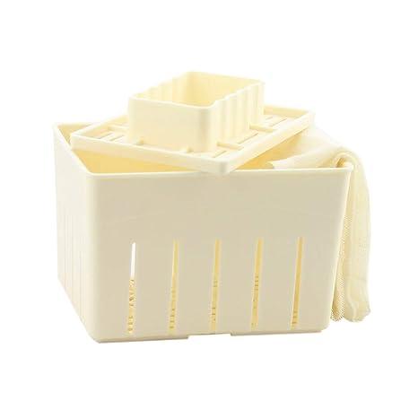 Juego de utensilios de cocina para hacer tofu, de MENGCORE, incluye molde de prensa