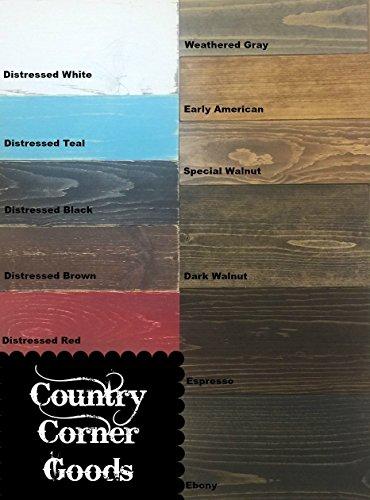 entryway shelf, coat rack, galvanized metal, wood shelf, metal shelf, Rustic Shelf, chippy paint by Country Corner Goods (Image #4)