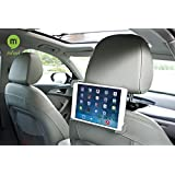 MFEEL Universal Durable Car Headrest Mount Holder Car Back Seat Holder for Apple iPad Air / iPad 4 / iPad 3 / iPad 2 / iPad Mini2 / iPad Mini and other Tablet PC GPS Car Headrest Mount Holder - Black