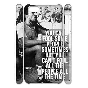 diy phone casediy 3D Case Cover for iphone 6 4.7 inch - Bob Marley Quotes case 3diy phone case
