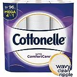 Cottonelle Ultra ComfortCare Toilet Paper, 24 Mega Rolls, Strong & Soft Bath Tissue