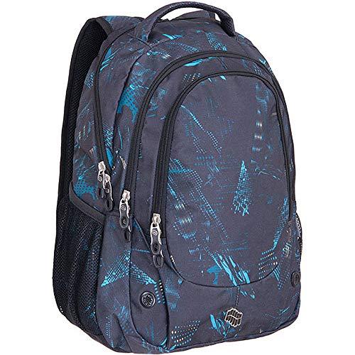 - PULSE Backpack - Durable Waterproof Outdoor Travel Backpack for College, School, Sports - 30L, Dark Blue, Blast