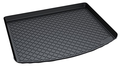 - Kaungka Cargo Liner Rear Cargo Tray Trunk Floor Mat Waterproof Protector for 2013 2014 2015 2016 2017 Ford Escape