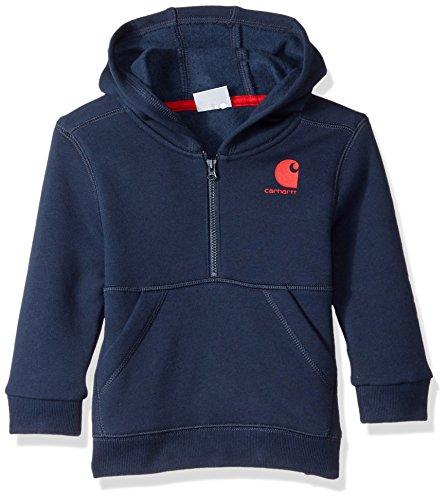 Carhartt Baby Boys Hooded Half Zip Sweatshirt
