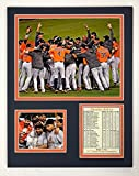 "Houston Astros - 2017 World Series Champs - Celebration - 11"" x 14"" Unframed Matted Photo Collage by Legends Never Die, Inc."