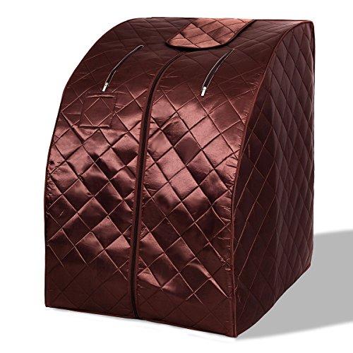 Imtinanz Modern Portable Far Infrared Sauna with Chair (Sunlight Sauna')
