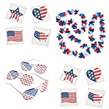 4th of July Patriotic accessories for parades, celebration, and parties!