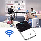 4G Travel Hotspot Wi-Fi Router, 4G Router with USIM Slot, Wireless Pocket 4G
