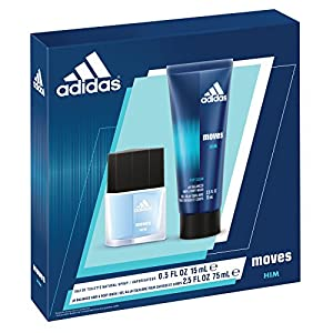 Adidas Fragrance Adidas Moves for Him 2 Piece Set