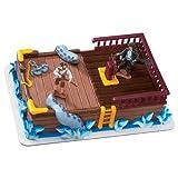 Pirates Cake Topper, Caribbean Topper