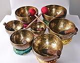 chakara singing bowl healing-mediation-perfect mediation chakara set hand hammered singing bowl -made in nepal
