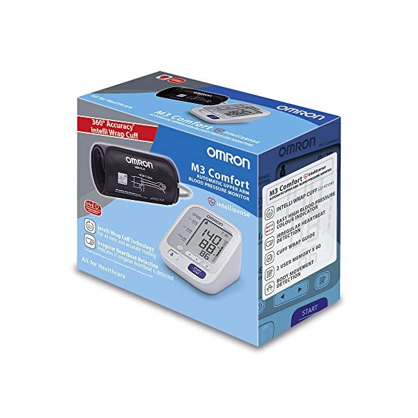 OMRON M2 Basic - Tensiómetro de brazo digital 8
