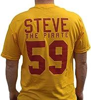 Steve The Pirate #59 Average Joe's Jersey T-Shirt Dodgeball Movie Cos