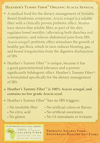 Heather's Tummy Fiber Organic Acacia Senegal Travel Packets (4 Boxes) by Heather's Tummy Care (Image #2)