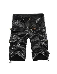 Mens Work Shorts Pocket Trunks Summer Short Pants Trouser Beachwear