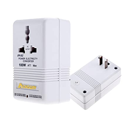 The 220 Volt Plug Amazon Com >> Amazon Com 40w Universal Travel Voltage Converter Travel Adaptor