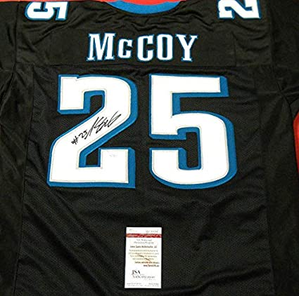 brand new 90542 2c4d5 Lesean Mccoy Autographed Signed Philadelphia Eagles Black ...