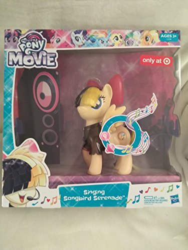 My Little Pony The Movie Electronic Toy Singing Songbird Serenade Pony Sings and Bow Lights Up, Removable Outfit Figure scale: 6 inches Ages 3+ New In Box