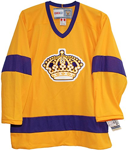 (Vintage Los Angeles King 1969-1971 Home Yellow Jersey (Medium))