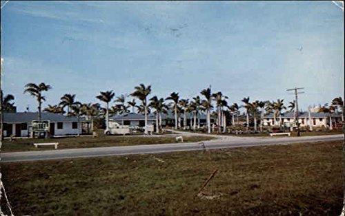 Lake Motel North Fort Myers, Florida Original Vintage - Myers North Lakes