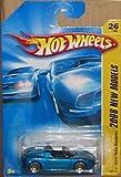 Hot Wheels 2008-026 New Models '08 Tesla Roadster BLUE 1:64 Scale