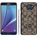Popular Samsung Galaxy Note 5 Cover Case ,Coach 6 Black Samsung Galaxy Note 5 Case Newest And Unique Designed Phone Case
