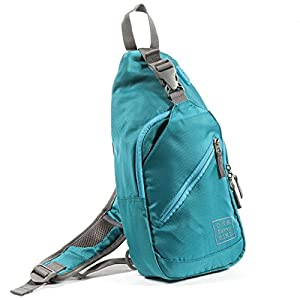 Sling Backpack for Women - Comfortable and Stylish Shoulder Backpacks with Multiple Compartments and Headphone Cord Access - Perfect Sized Crossbody Bags for Hiking, Walking, Biking, Travel, & More